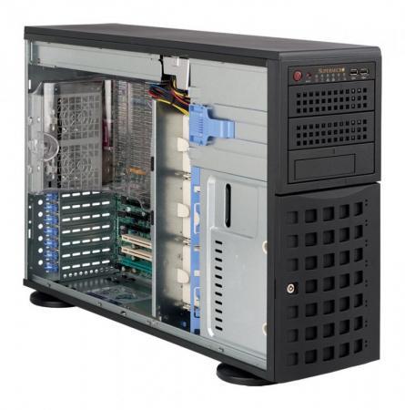Серверный корпус E-ATX Supermicro CSE-745TQ-R800B 800 Вт чёрный cse 745tq r920b