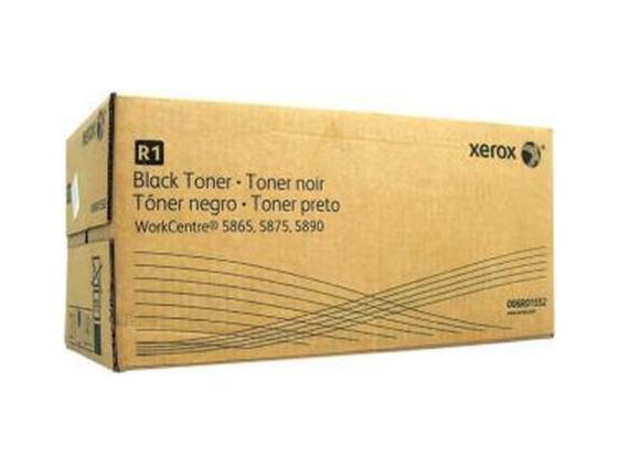 Тонер-Картридж Xerox 006R01552 для WC 5865/5875/5890 черный 110000стр тонер картридж wc pro 315 320 415 420 2x6000 pages 006r01044