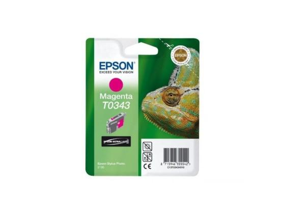 Картридж Epson C13T03434010 T0343 для Stylus Photo 2100 пурпурный kingston kc1000 960gb ssd накопитель