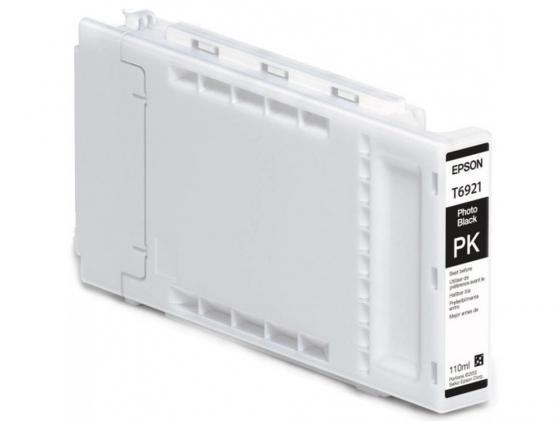 Картридж Epson C13T692100 для Epson SC-T3000/T5000/T7000 фото-черный 110мл картридж epson c13t32484010 для epson sc p400 матовый черный