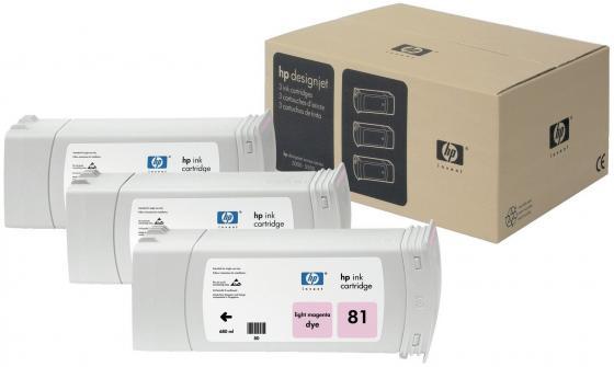 Картридж HP C5071A №81 для Deskjet 5000/5500 светло-пурпурный 680мл 3шт forex b016 h 5071