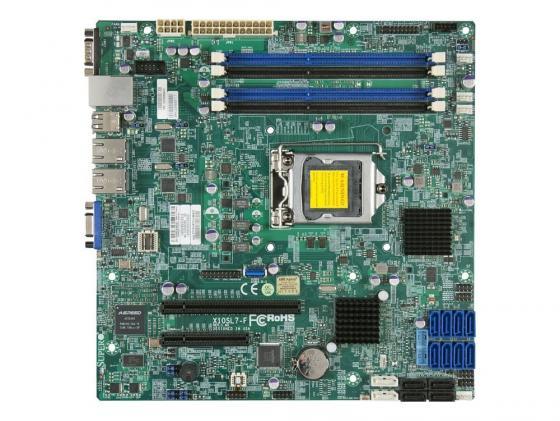 все цены на Материнская плата SuperMicro MBD-X10SL7-F-O 1xLGA 1150 C222 4xDIMM 1xPCI-E x8 1xPCI-E x4 2xSATAIII 4xSATAII mATX Retail онлайн