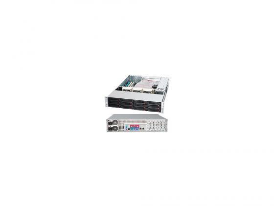 Серверный корпус 2U Supermicro CSE-826E16-R1200LPB 1200 Вт чёрный avc db12038b12h p012 dc 12v 4 5a 120x120x38mm server square fan