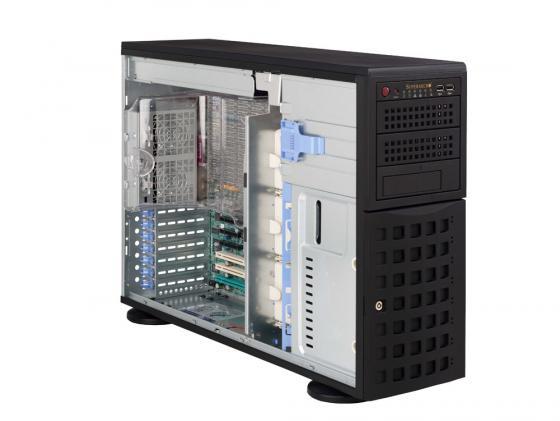 Серверный корпус E-ATX Supermicro CSE-745TQ-800B 800 Вт чёрный цена и фото