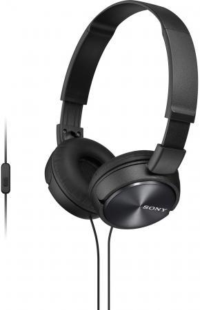 Наушники Sony MDR-ZX310APB черный цена