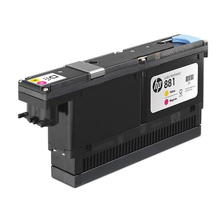 Печатающая головка HP CR327A №881 для HP LX610 желтый пурпурный цена 2017