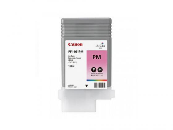 Картридж Canon PFI-101 PM для iPF5100 фото-пурпурный canon pfi 102c