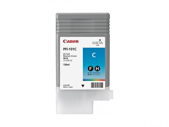 Картридж Canon PFI-101 C для iPF5100 голубой for canon pfi 107 disposable cartridge chip for canon ipf680 ipf685 ipf770 ipf780 ipf785 printer