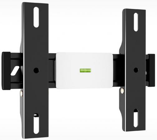 Кронштейн Holder LCD-F2610-B черный для ЖК ТВ 22-47 настенный от стены 33мм наклон 0° VESA 200x200 до 30кг holder lcd t2609 b для 22 47 металлик
