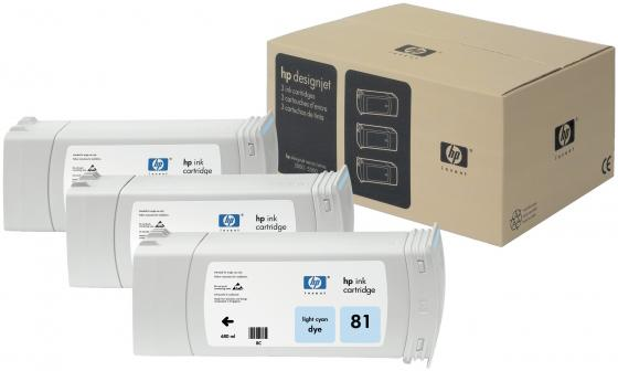 Картридж HP C5070A №81 для Designjet 5000 светло-голубой hot sales 80 printhead for hp80 print head hp for designjet 1000 1000plus 1050 1055 printer