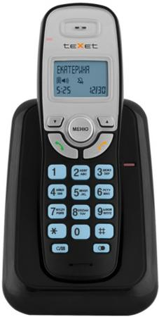 Радиотелефон DECT Texet TX-D6905A черный радиотелефон texet tx d6955a