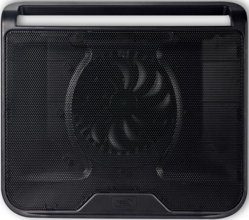 """все цены на Подставка для ноутбука 15.6"""" Deepcool N280 340x310x54mm 1xUSB 530g 21dB черный онлайн"""