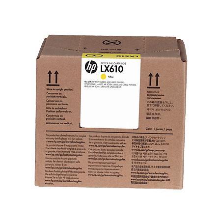 Картридж HP CN672A для LX610 желтый цена 2017