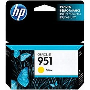 Картридж HP CN052AE №951 для Officejet Pro 8600 желтый картридж hp cn051ae 951 для officejet pro 8100 8600 пурпурный
