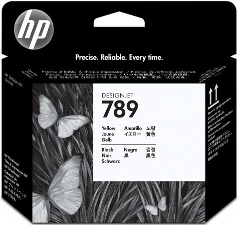 Печатающая головка HP CH612A №789 для HP DesignJet L25500 желтый черный for hp 789 designjet printhead for hp designjet l25500 printer ch612a ch613a ch614a