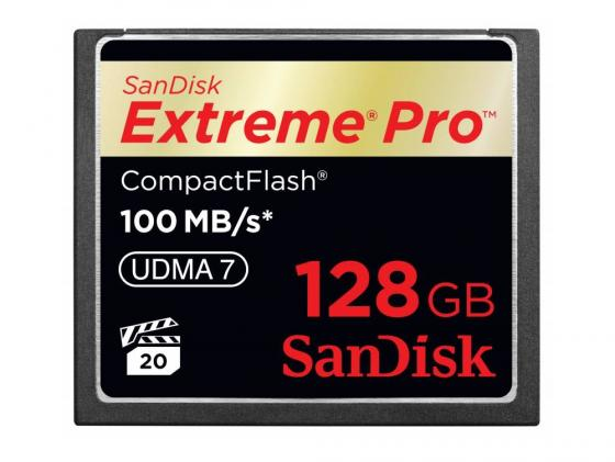 цены на Карта памяти Compact Flash Card 128Gb SanDisk VPG 65 UDMA 7 SDCFXPS-128G-X46