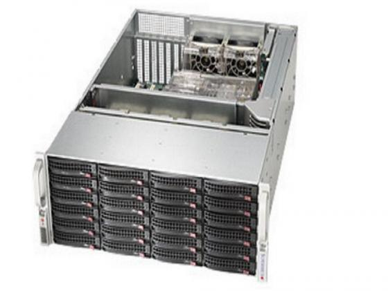 Серверный корпус 4U Supermicro CSE-846BE16-R920B 920 Вт серебристый серверный корпус e atx supermicro cse 745tq r920b 920 вт чёрный