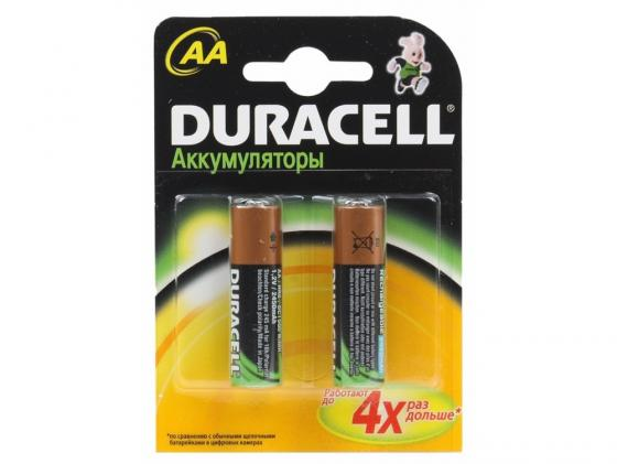 Аккумулятор 1300 mAh Duracell HR6-2BL AA 2 шт зарядное устройство аккумуляторы duracell cef14 2 х aa2500 mah 2 х aaa850 mah