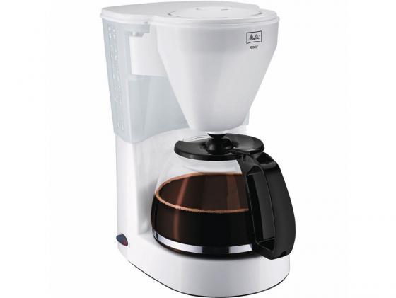 Кофеварка Melitta Easy 1050 Вт белый кофеварка melitta easy top sst белый