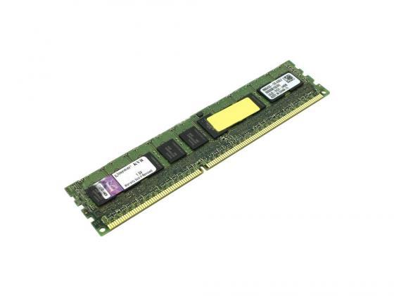Оперативная память 8Gb PC3-12800 1600MHz DDR3 DIMM  Kingston CL11 KVR16R11D8/8