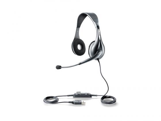 Гарнитура Jabra UC VOICE 150 Duo USB NC WB 1599-829-209 гарнитура jabra uc voice 550 mono usb nc wb 5593 829 209