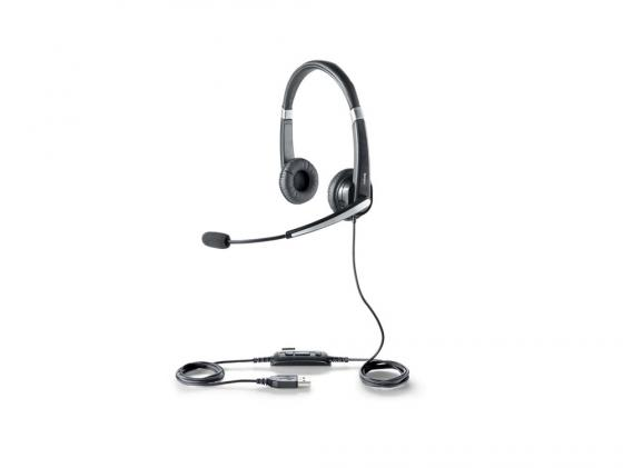 Гарнитура Jabra UC VOICE 550 Duo USB NC WB 5599-829-209 voip оборудование jabra speak 510 uc bluetooth usb nc wb 7510 209