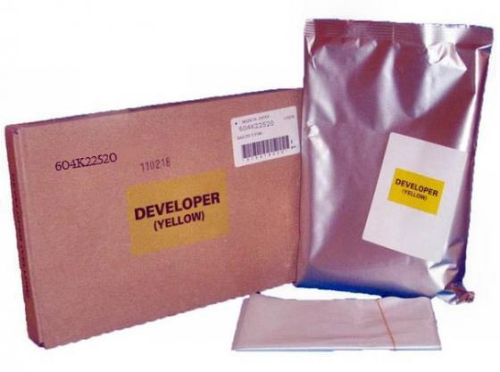 Девелопер Xerox 604K22520 для WCP2128/2636/3545/7235/ Phaser 7760 желтый девелопер xerox 675k85060 для wc 7556 желтый