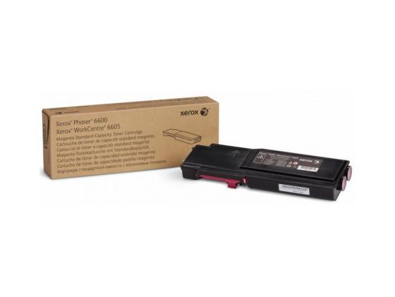 Тонер-Картридж Xerox 106R02250 для P6600/WC 6605 пурпурный тонер картридж xerox 106r02234 пурпурный для xerox ph 6600 wc 6605 6000стр