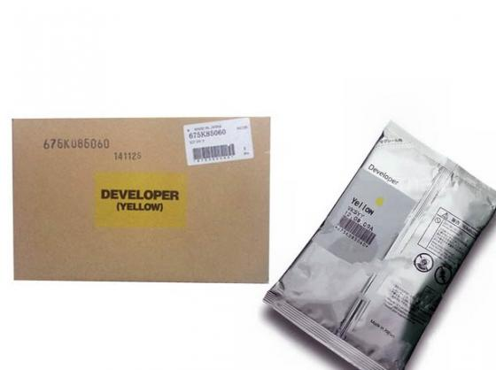 Девелопер Xerox 675K85060 для WC 7556 желтый девелопер xerox 675k85040 для wc 7556 голубой