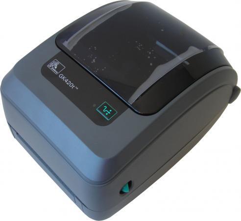 Принтер Zebra GK420t GK42-102520-000 gk420t gk42 102221 000 с отделителем этикеток