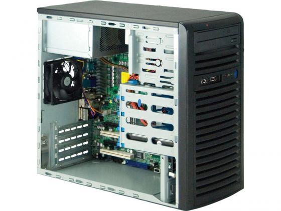 Серверный корпус microATX Supermicro CSE-731I-300B 300 Вт чёрный