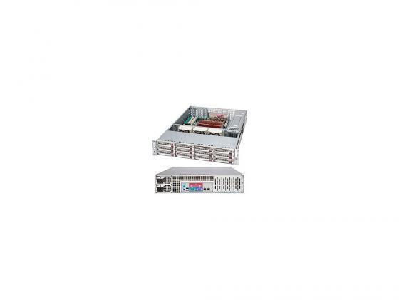 Серверный корпус Supermicro CSE-826TQ-R800LPB 2U 13.68''x13'' 12x3.5'' HotSwap SAS/SATA SES2 800Вт черный шкатулка smartwinder 039 bb