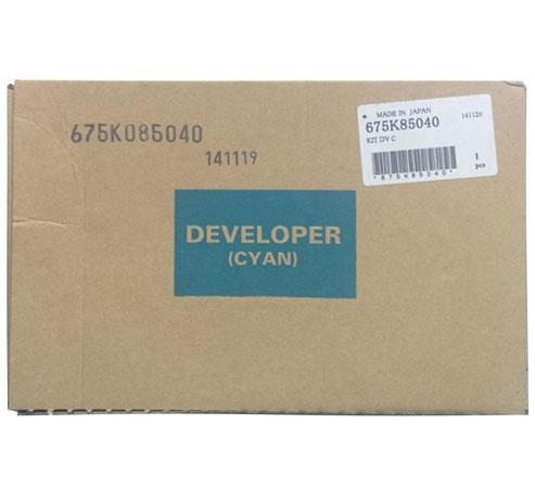 Девелопер Xerox 675K85040 для WC 7556 голубой модуль с 1 лотком xerox 097s04161 для wc 7525 7530 7535 7545 7556