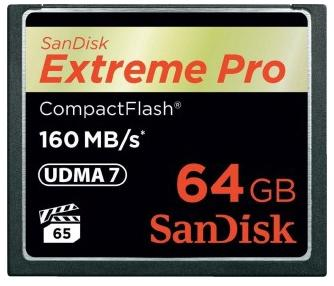 Карта памяти Compact Flash Card 64Gb Sandisk SDCFXPS-064G-X46 недорого