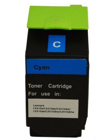 Тонер-Картридж Lexmark 80C8HCE для CX310/410/510 голубой 3000стр цена