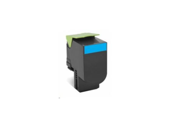 Тонер-Картридж Lexmark 80C8XC0 для CX510x голубой 4000стр n552vx fy280t