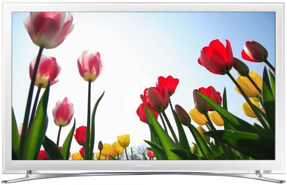 Телевизор LED 22 Samsung UE22H5610AKX белый 1920x1080 Wi-Fi RJ-45 SCART телевизор samsung ue22h5610akx