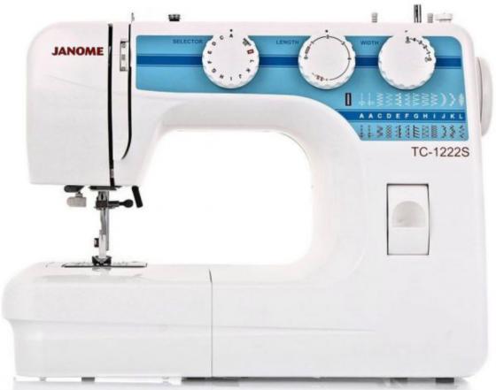Швейная машина Janome TC 1222S белый швейная машина janome tc 1222s белый [tc 1222s]