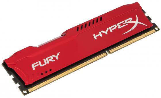 Оперативная память 4Gb PC3-10600 1333MHz DDR3 DIMM CL9 Kingston HX313C9FR/4 HyperX FURY Red Series jzl memoria pc3 10600 ddr3 1333mhz pc3 10600 ddr 3 1333 mhz 8gb lc9 240 pin desktop pc computer dimm memory ram for amd cpu