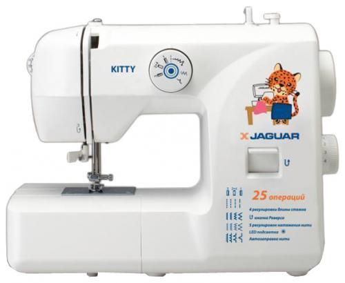 Швейная машина Jaguar Kitty белый все цены