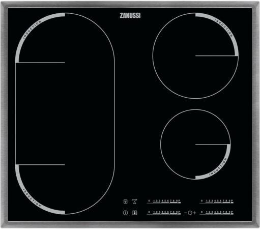 Варочная панель электрическая Zanussi ZEM56740XB черный