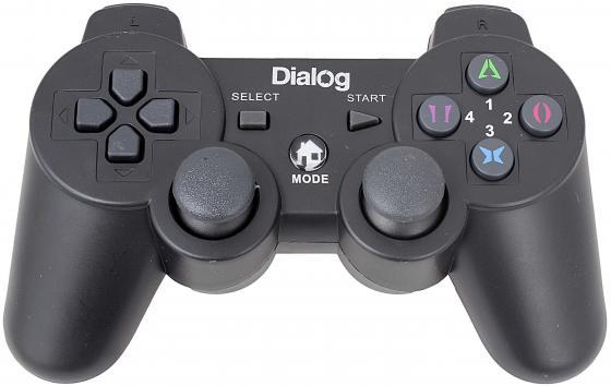Геймпад Dialog Action GP-A17 вибрация черный USB dialog action gp a01 black