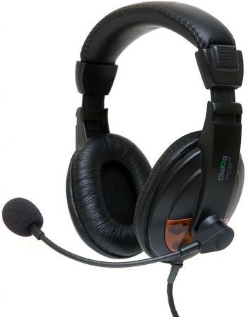 Гарнитура Dialog M-750HV черный гарнитура