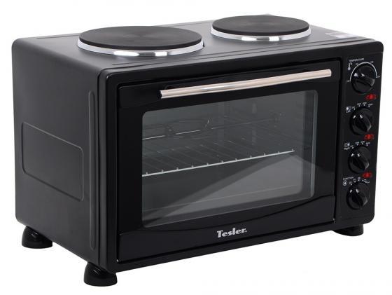 Мини-печь TESLER EOGP-3000 черный цена