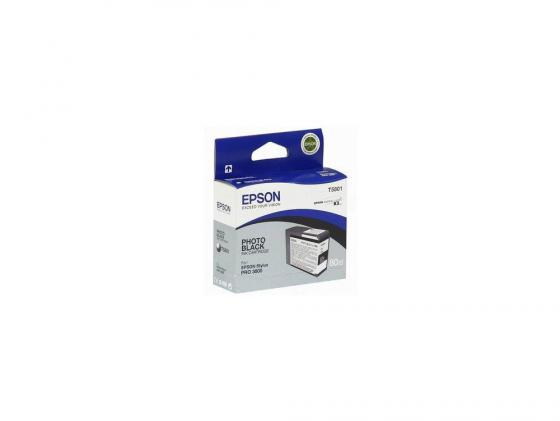 Картридж Epson T580100 для Stylus Pro 3800 черный картридж epson c13t580b00 для epson stylus pro 3880 vivid light magenta