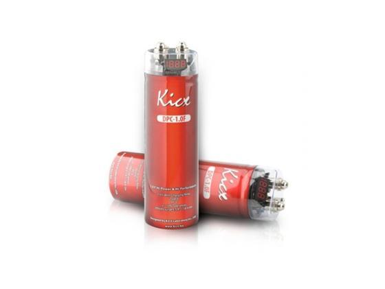 Конденсатор Kicx DPC-0.5F с вольтметром емкостью 0.5Ф kicx kap 51