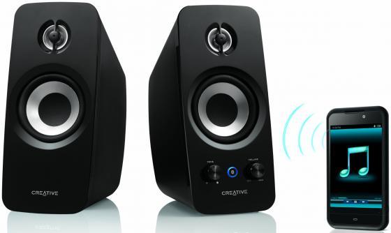 Колонки Creative T15 Wireless 18 Вт черный 51MF1670AA000 колонки creative sbs a60 51mf1635aa000