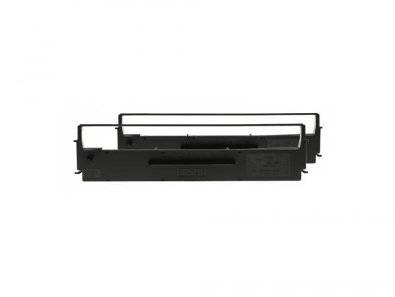 Картридж Epson C13S015614 для LX-300/300+ двойная упаковка принтер струйный epson l312