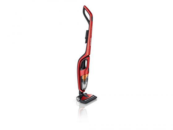 Пылесос Philips PowerPro Duo без мешка сухая уборка беспроводной красный FC6162/02 недорого