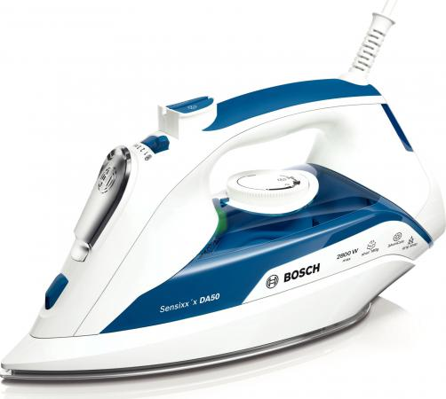 Утюг Bosch TDA 5028010 2800Вт белый синий bosch tda 2340